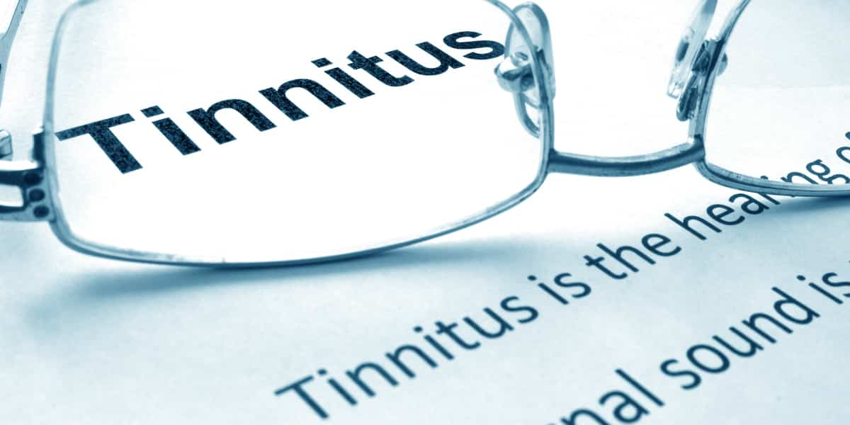 What is tinnitus or ringing in the ears?